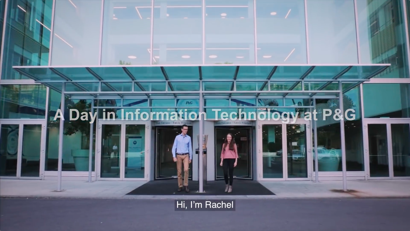 A Day in Information Technology at P&G