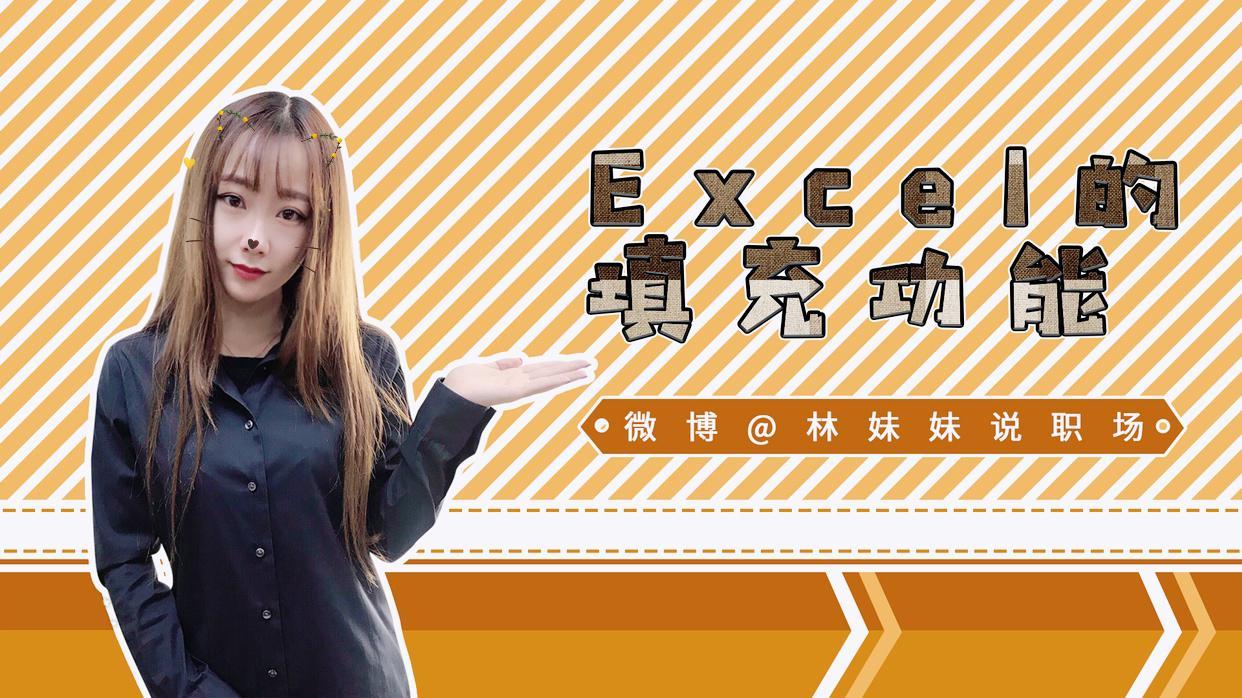 《林妹妹说》Excel 第6课-填充功能